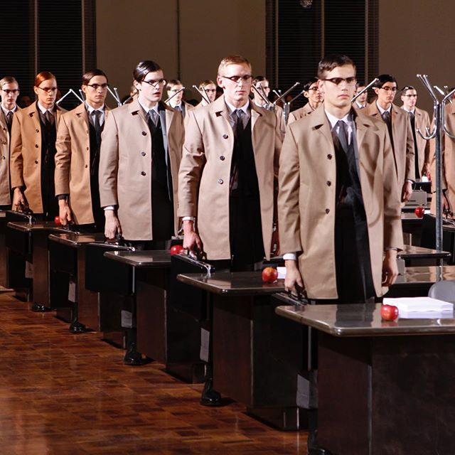 ... uniformity ... fall 2009. pitti uomo. florence, italy.  #thombrowne