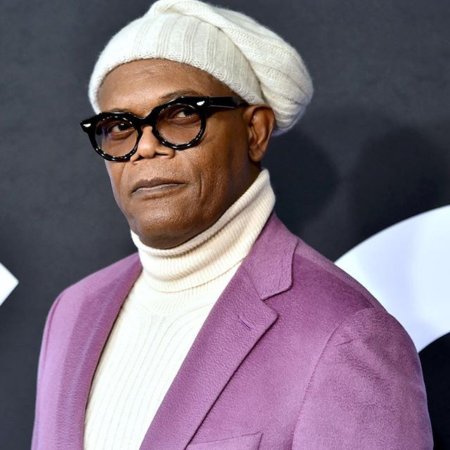 As they say in fashion, three s a trend. So in theory, it would only take one more Samuel L. Jackson all-purple look to make it happen. We ll keep you posted.   Until then, swipe    . . . . . #wwdmens  #samuelljackson