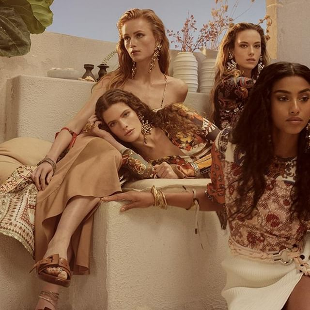 Featuring @NRamsayLevi s runway collection, the #chloeSS19 campaign by #StevenMeisel conjures a dreamlike destination in Greece  Stay tuned for the full film reveal on January 21st on IGTV  starring #chloeGIRLS: @carolina.burgin, @hannahfergusonofficial, @imaanhammam, @riannevanrompaey  Art direction @MMParisdotcom Styling @AllegriaTorass Hair @GuidoPalau Makeup @PatMcGrathreal  Pre-order the collection on http://chloe.com