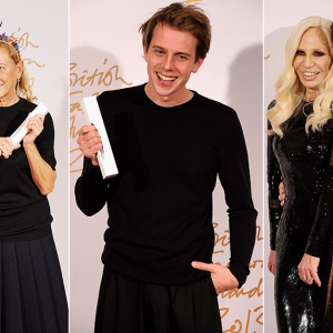 Победители British Fashion Awards 2013