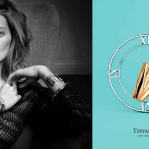 Дарья Вербова в рекламной кампании Tiffany & Co