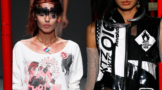 LFW: Vivienne Westwood Red Label, KTZ