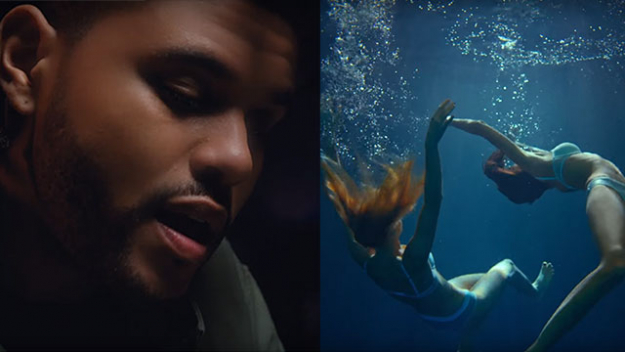 Подводный рэп в клипе The Weeknd