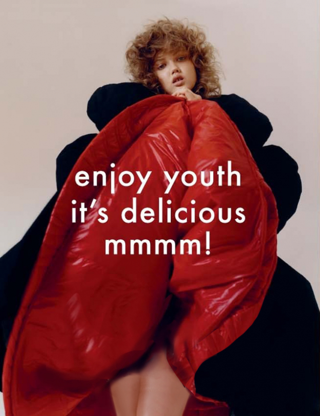 Enjoy Youth It's Delicious!