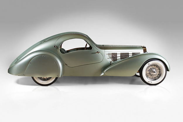 Bugatti Type 57S Compétition Coupé Aerolithe, 1935 (2007 re-creation)