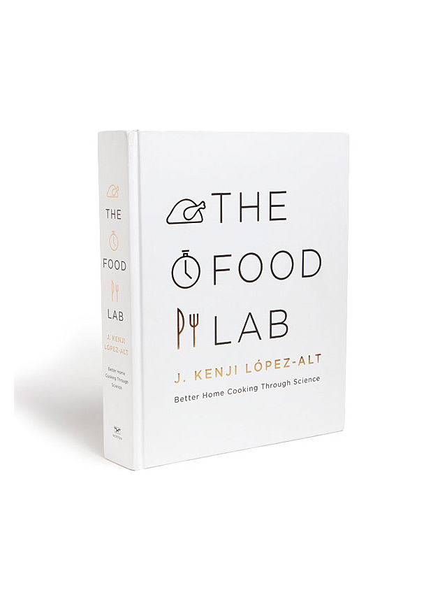 Книга 'Food lab: Better home cooking through science' / amazon.com