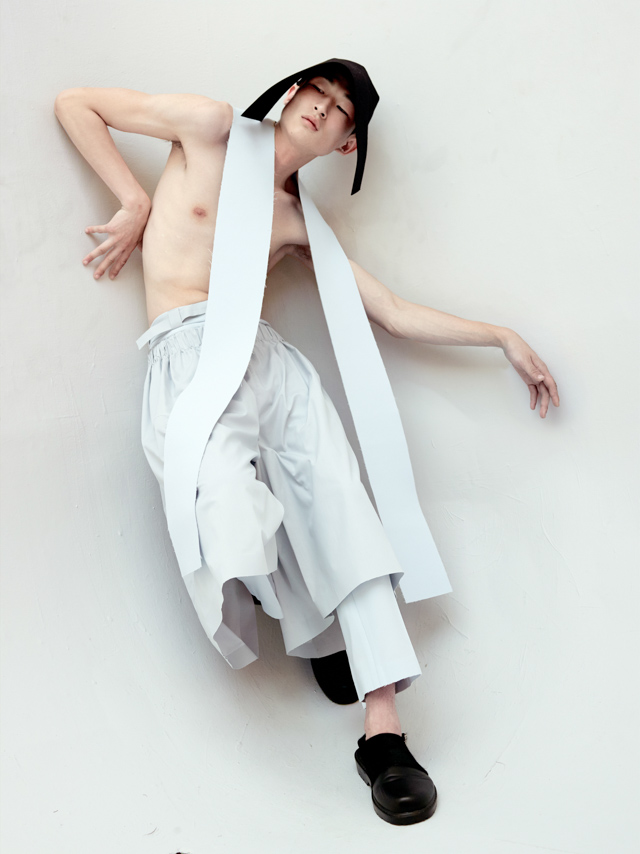 Rory Mooney by Nick Knight for 1 Granary