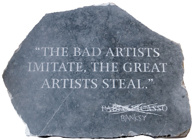 Banksy. Picasso Quote
