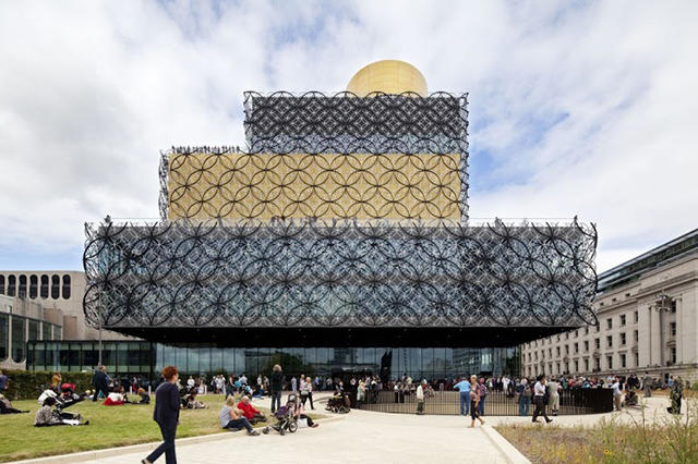 Library of Birmingham. Mecanoo Architects