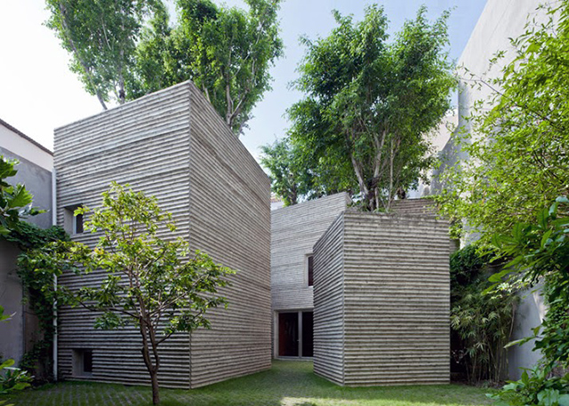 House for Trees. Vo Trong Nghia Architects