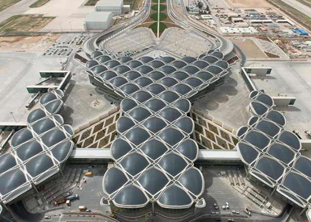 Queen Alia International Airport. Foster + Partners