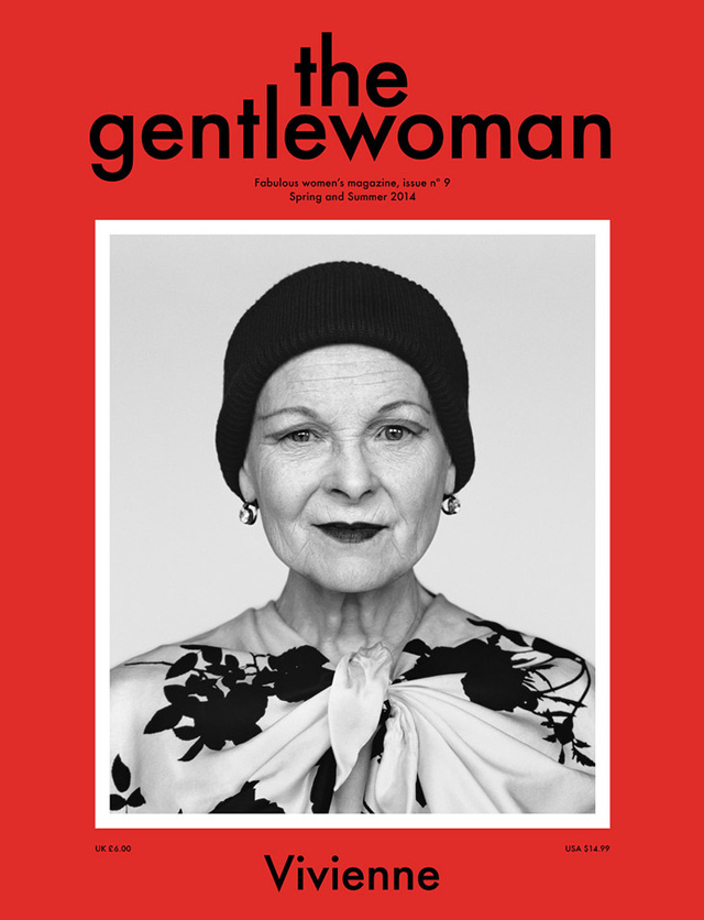 Вивьен Вествуд на обложке журнала The Gentlewoman