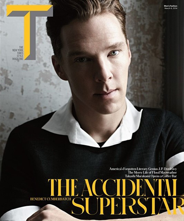 Бенедикт Камбербэтч на обложке The New York Times Style Magazine