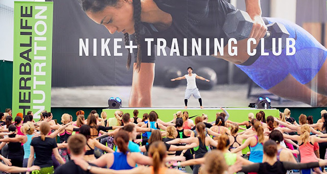 Быть в форме: Nike+ Training Club в Киеве