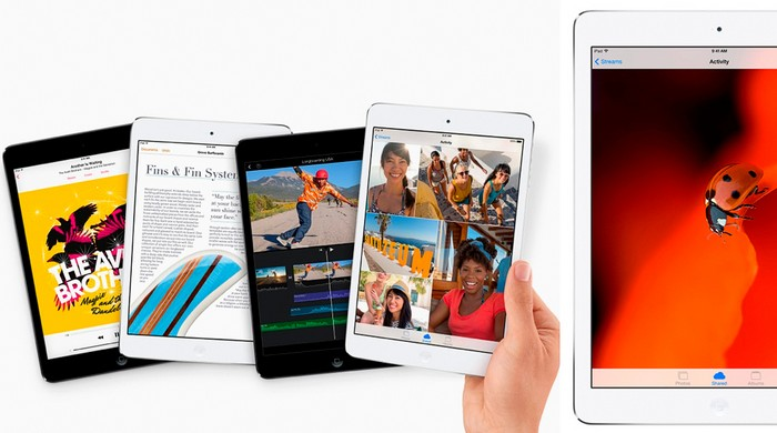 Новинки Apple: iPad Air и iPad Mini